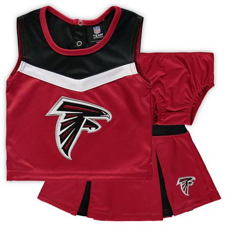 best service 32e86 66ce8 Girls Atlanta Falcons Cheerleader Outfit, Falcons Cheer ...