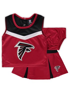 15c7a6a5f68 Product Image Atlanta Falcons Girls Toddler Two-Piece Spirit Cheerleader Set  with Bloomers - Red Black