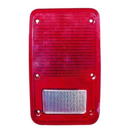 Side Tail Light Lens (Go-Parts » 1981 - 1993 Dodge B250 Tail Light Lens - Right (Passenger) Side 4057972 CH2809102 Replacement For Dodge)