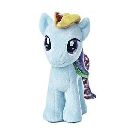 Aurora World My Little Pony Rainbow Dash Pony Plush, 8-5/8