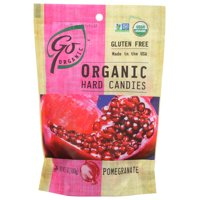Go Organic Hard Candy, Pomegranate, 3.5 Oz, 3.5 Oz, Pack Of 6