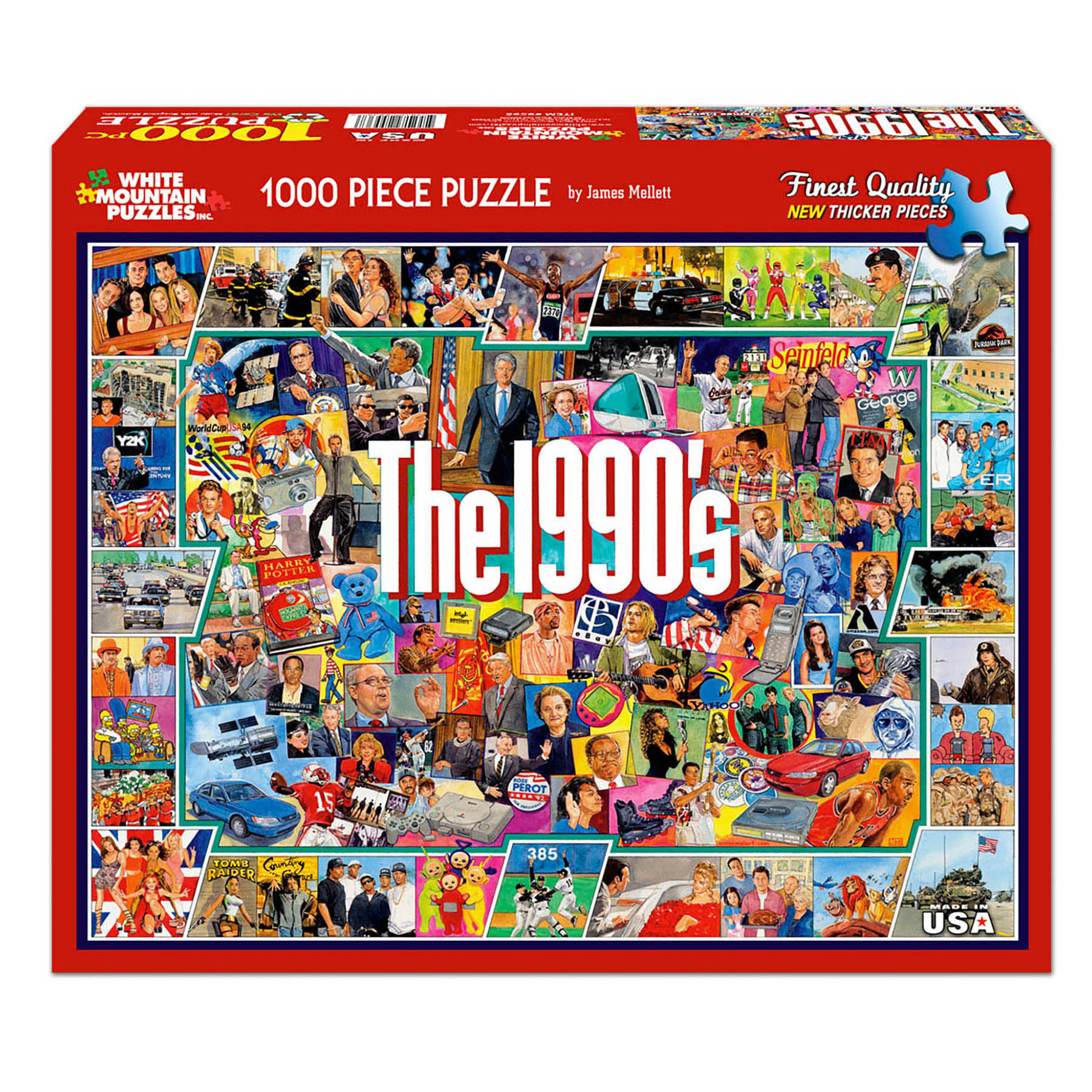 White Mountain Puzzles 1990s - 1000 Piece Jigsaw Puzzle ...