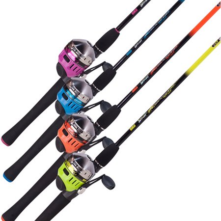 Zebco splash spincast combo color may vary for Kid fishing pole walmart