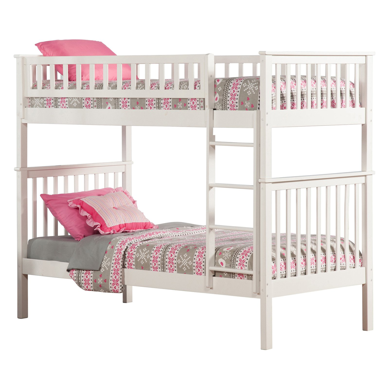 Woodland Twin over Twin Bunk Bed