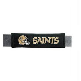 NFL New Orleans Saints Velour Seat Belt Pads