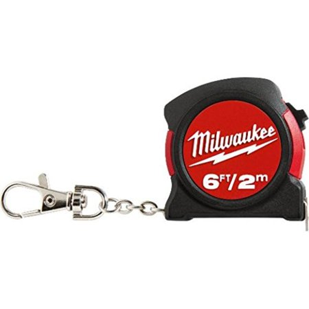 6' / 2M Keychain Milwaukee Tape Measures and Tape Rules 48-22-5506