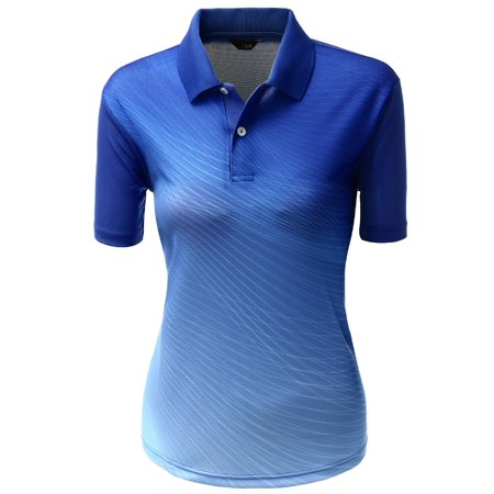 ed9eeb7c FashionOutfit - FashionOutfit Women's Coolever Premium Short Sleeve Polo T- Shirts - Walmart.com