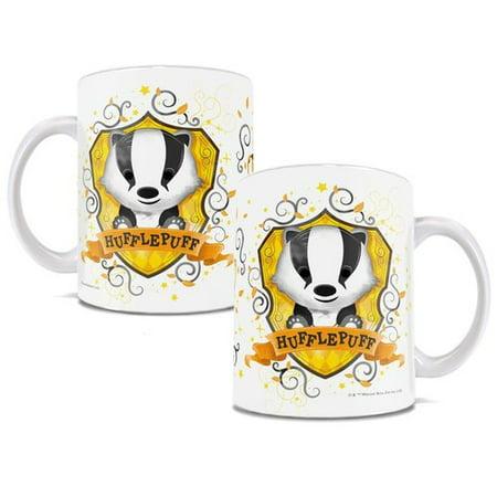 - Trend Setters Harry Potter Hufflepuff Hogwarts Chibi Cute Geek Coffee Mug