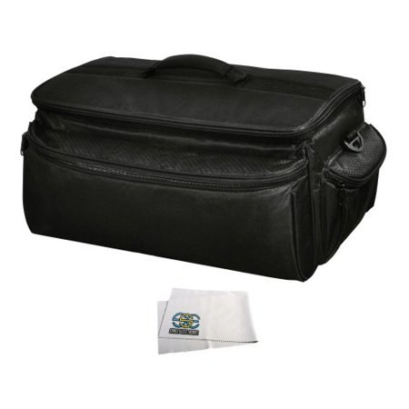 Pro Series Camera Bag - Rugged Series Water Resistant, Adjustable Shoulder Strap, Heavy Duty, Shock Proof Pro Camcorder Carrying Case for Panasonic Nv-md10000, Ag-af100, Ag-hvx200ae, Aj-hpx2000 Camcorder