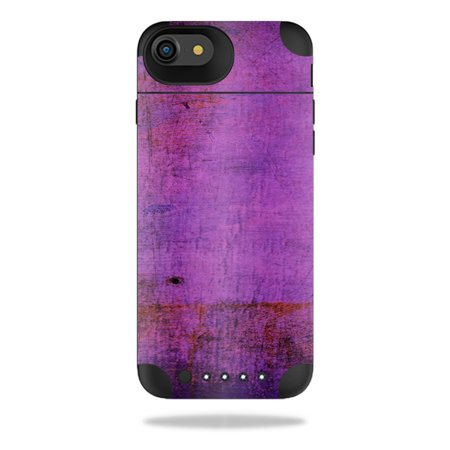 Mightyskins Protective Vinyl Skin Decal For Mophie Juice Pack Air Iphone 7 Wrap Cover Sticker Skins Purple Sky