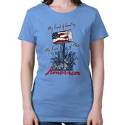 American Ladies T Shirt  My Kind Of Country