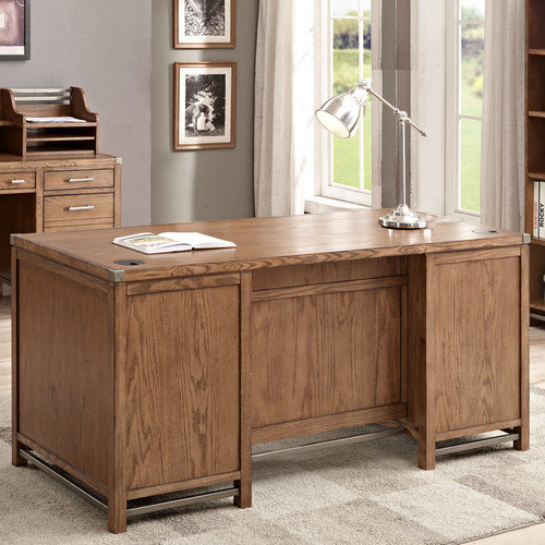 Martin Home Furnishings Arcadia Double Pedestal Desk