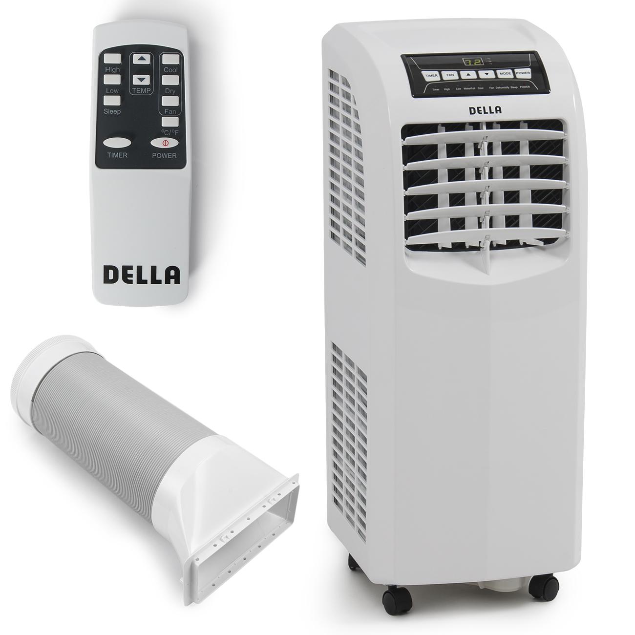 8000 Btu Window Air Conditioner Della 8,000 BTU Portable Air Conditioner Cooling Fan ...