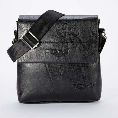 Flap Tote Handbag - Womail Men Fashion Business Handbag Shoulder Bag Tote Flap Bag Chest Bag