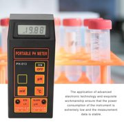ACOUTO PH Monitor, 3-In-1 PH/mV/Thermometer Water Tester PH Monitor (With PH and Temp Electrodes), PH Tester