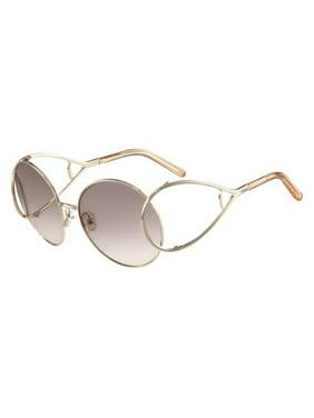 7f15ce1d0d30 Product Image CHLOE Sunglasses CE124S 724 Gold-Peach Round 60x18x135