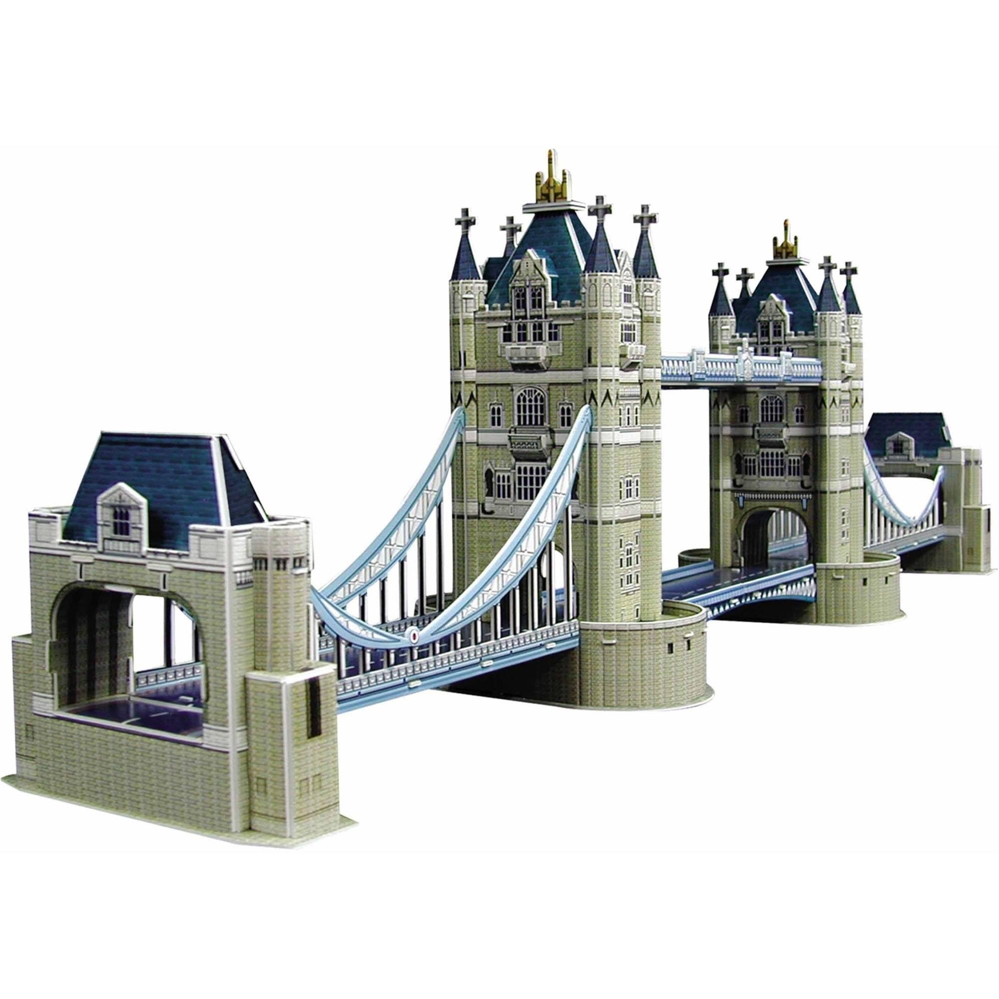 Tower Bridge 3D Puzzle, 112 Pieces