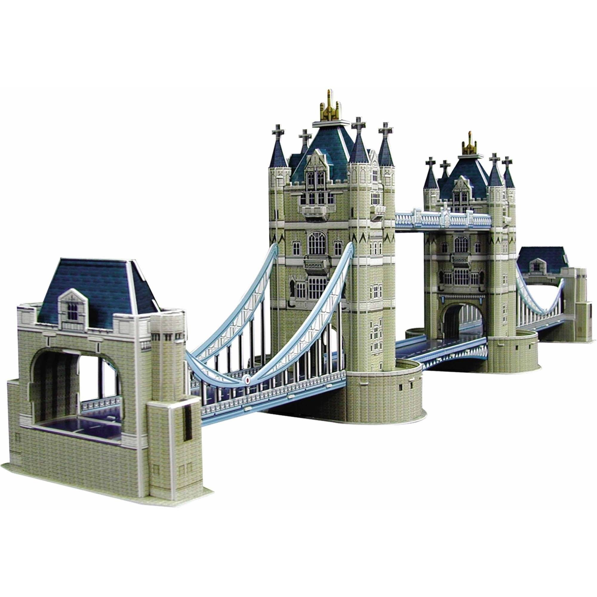Tower Bridge 3D Puzzle, 112 Pieces