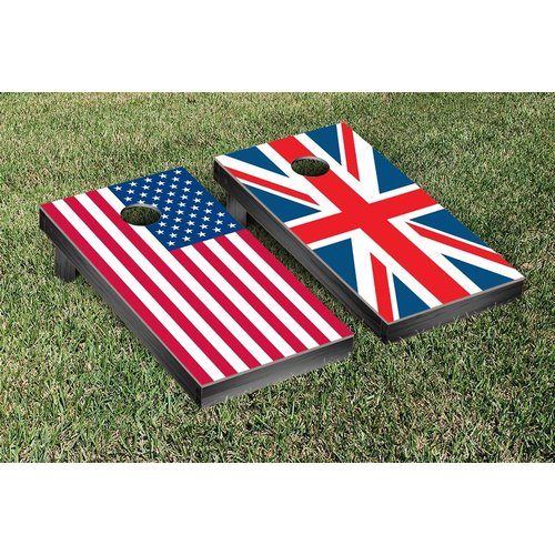 Victory Tailgate Country Flag Cornhole Game Set by Victory Tailgate