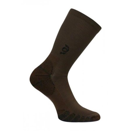 Travelsox Tsc 100 Compression Crew Socks  44  Brown   Small