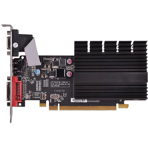 XFX Force AMD Radeon HD 5450 1GB DDR3 PCI Express 2.1 Graphics Card