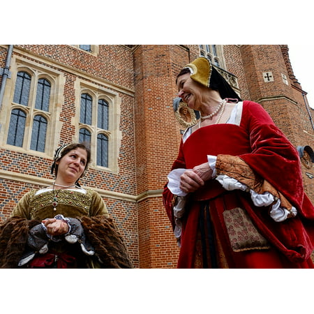 LAMINATED POSTER Historic Gowns Maidens Acting Dress Medieval Women Poster Print 24 x 36 - Mideval Dress
