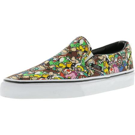 Vans - Vans Classic Slip-On Nintendo Super Mario Brothers Leather  Skateboarding Shoe - 9M   7.5M - Walmart.com 1471c90ab