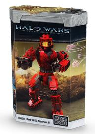 Halo Red UNSC Spartan II Set Mega Bloks 96820 by Mega Brands