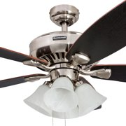 52 Honeywell Hamilton Ceiling Fan Brushed Nickel Image 2
