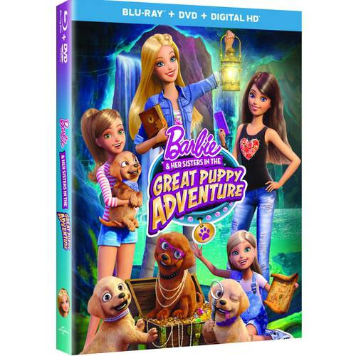 Barbie & Her Sisters In The Great Puppy Adventure (Blu-ray + DVD + Digital HD) (With INSTAWATCH) (Anamorphic Widescreen) MCABR63165818