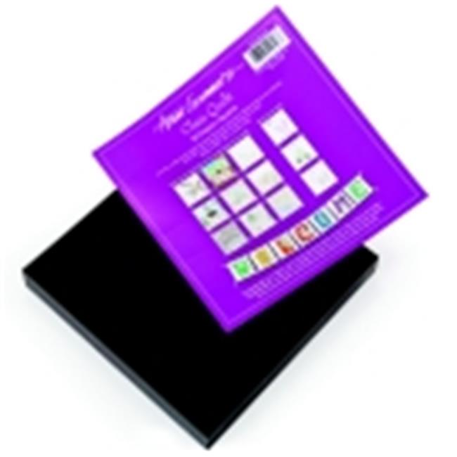 Arnold Grummer Black Project Square Class Quilt Set - 8 x 8 inch - Set 30