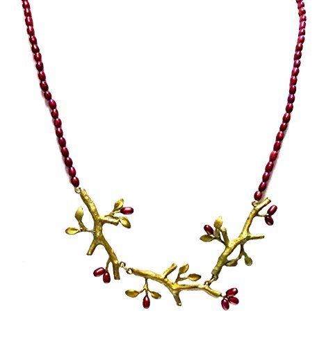 Twigs Pearl Necklace By Michael Michaud by