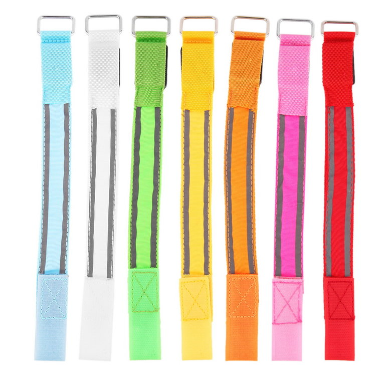 Stylish LED Arm Bands Lighting Armbands Leg Safety Bands for Cycling Skating Party Shooting 7 Colors Outdoor Sports... by