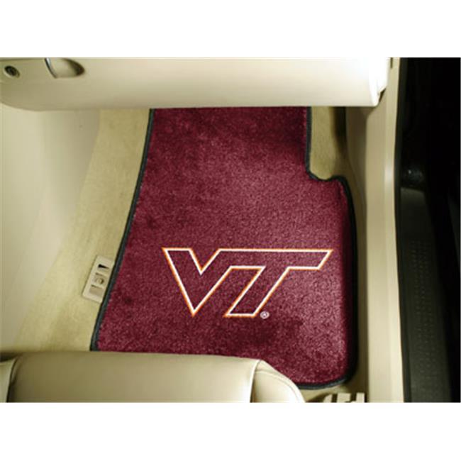Fanmats Virginia Tech Car Mats F0005421 Walmart Com