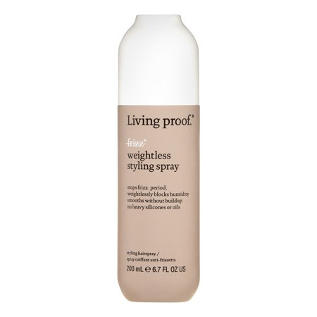 Living Proof No Frizz Weightless Styling Hair Spray, 6.7 Oz