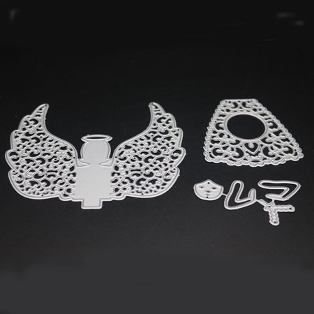 Angel Carbon Steel Cutting Dies Set Knife Mold Stencils Diy