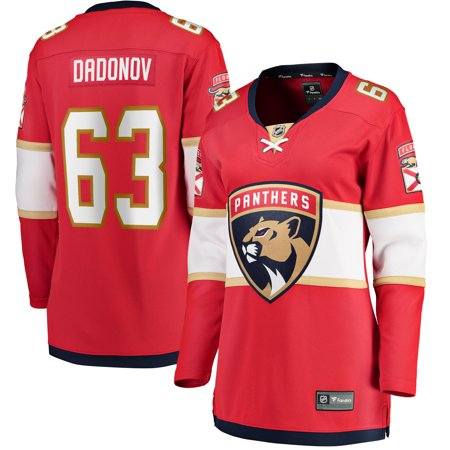 Evgenii Dadonov Florida Panthers Fanatics Branded Women's Home Breakaway Player Jersey -