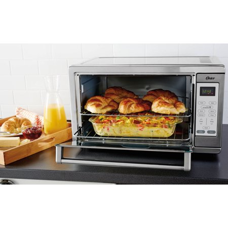 Oster Extra Large Digital Toaster Oven Stainless Steel Convection Tssttvxldg 002 Ebay