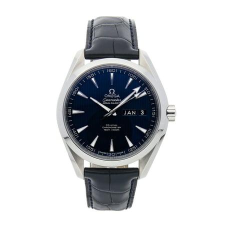 Pre-Owned Omega Watch Seamaster Aqua Terra 150m Annual Calendar