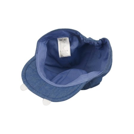 5be6008af65 Baby Boys Hippo Hat Cap with Ears Blue - Walmart.com