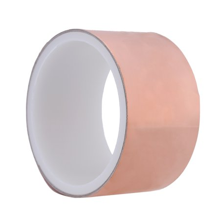 50mm * 2m One Side Copper Foil Tape EMI Shielding Single Conductive Adhesive for Guitar
