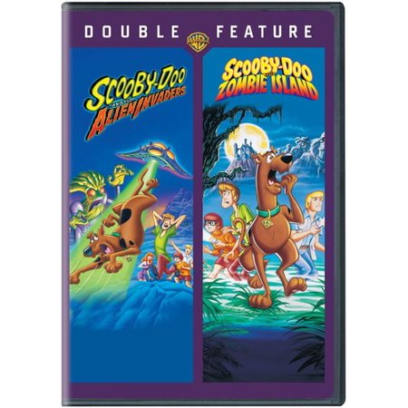 Scooby-Doo  The Alien Invaders and Scooby-Doo  Zombie Island (DVD) -  Walmart.com 57c68bb0f