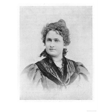 Doctor Maria Montessori Vintage Portrait Photo Print Wall Art