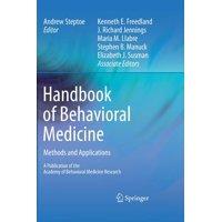 Handbook of Behavioral Medicine: Methods and Applications (Hardcover)