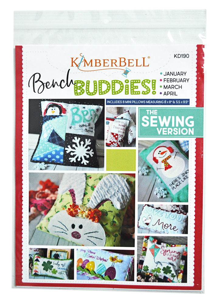 March BENCH BUDDIES {January April} Pattern **Sewing Version**  By: Kimberbell KD190 February