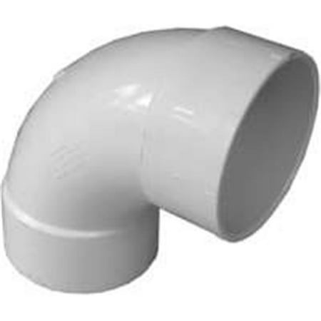 Wall Supply Elbow Satin (42830 3 In. Pvc Sewer & Drain 90 Degree Satin Elbow )