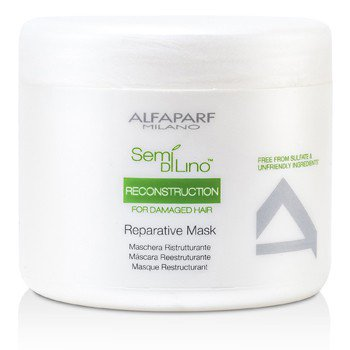 Semi Di Lino Reconstruction Reparative Mask (For Damaged Hair) 16.9oz