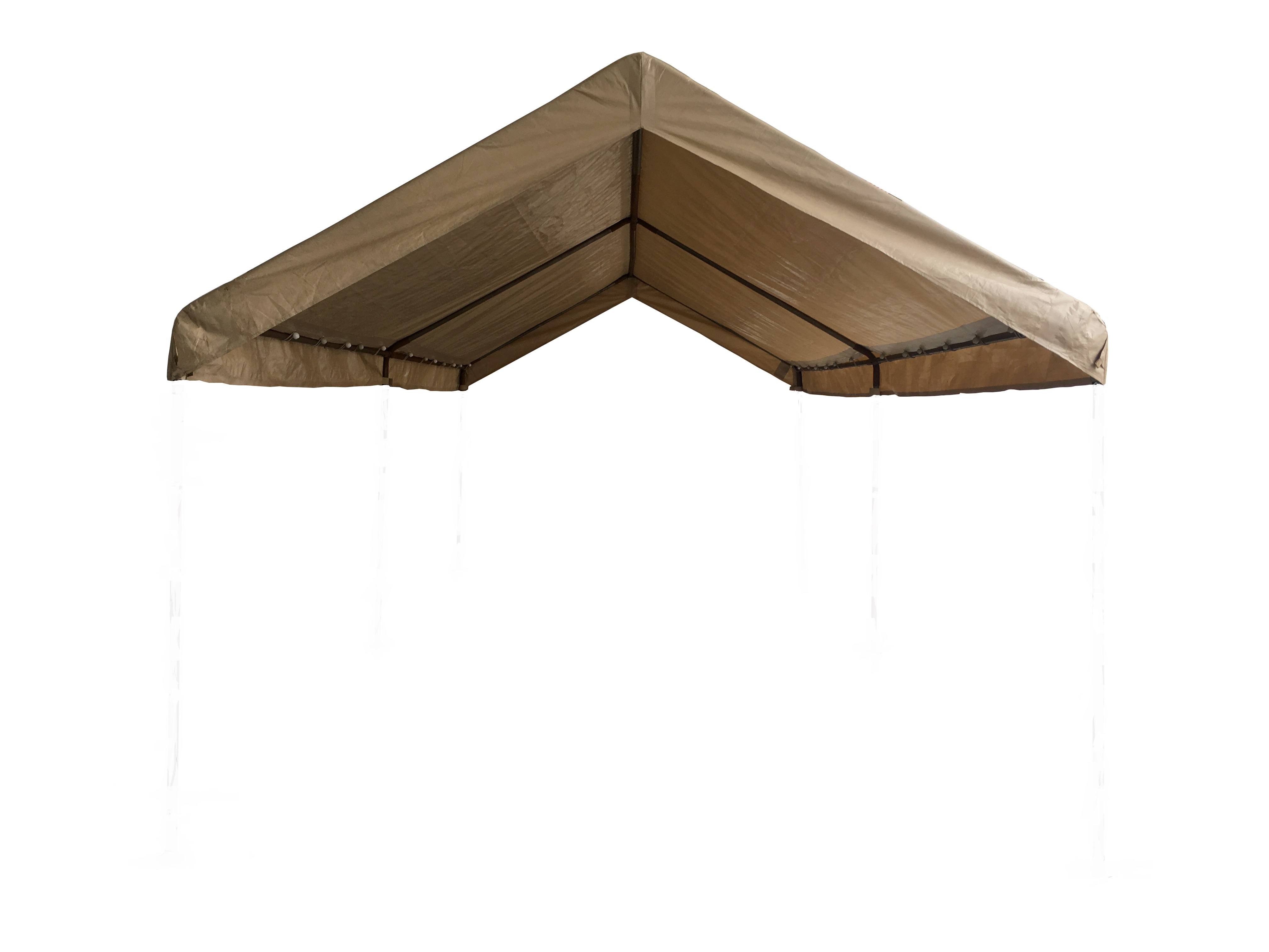 Beige 10 X 20 Frame Canopy Replacement Cover