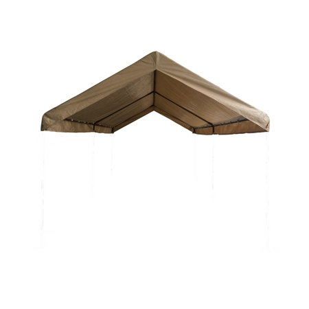 Carport Canopy Cover 10 X 20 Replacement Tarp Ball Bungees