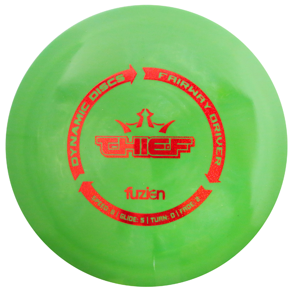 Dynamic Discs BioFuzion Thief 170-172g Fairway Driver Golf Disc [Colors may vary] - 170-172g